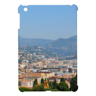 Aerial view of the city of Nice in France Cover For The iPad Mini