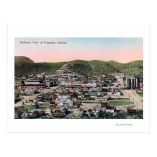 Aerial View of the CityKingman, AZ Postcard