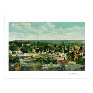 Aerial View of the CityPaso Robles, CA Postcard
