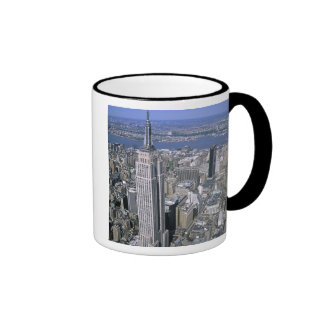 Aerial view of the Empire State Building and Ringer Mug