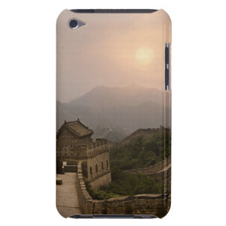 Aerial view of the Great Wall of China Barely There iPod Cases