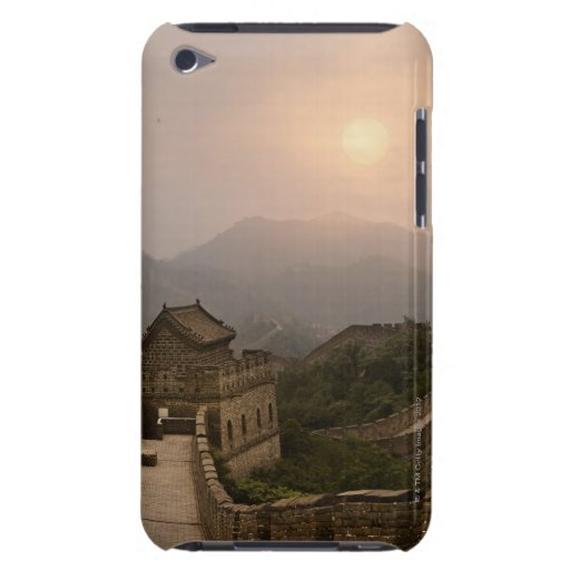Aerial view of the Great Wall of China iPod Touch Cases