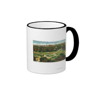Aerial View of the Public Gardens # 2 Coffee Mug