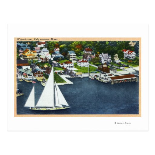Aerial View of the Waterfront 2 Post Cards