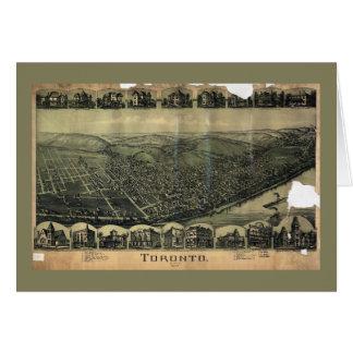 Aerial View of Toronto, Ohio (1899) Card