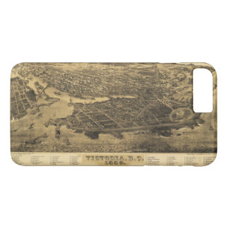 Aerial View of Victoria, B.C., Canada (1889) iPhone 8 Plus/7 Plus Case