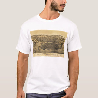 Aerial View of Victoria, B.C., Canada (1889) T-Shirt