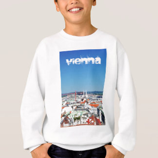 Aerial view of Vienna, Austria Sweatshirt