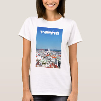 Aerial view of Vienna, Austria T-Shirt