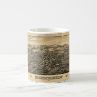 Aerial View of Waterville, New York (1885) Coffee Mug