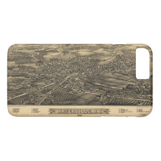 Aerial View of Waterville, New York (1885) iPhone 8 Plus/7 Plus Case
