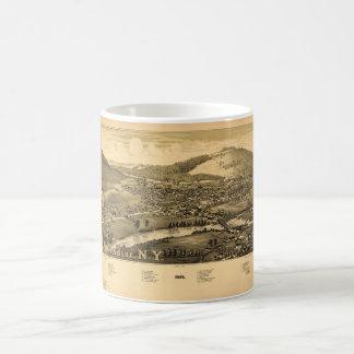 Aerial View of Windsor, New York (1887) Coffee Mug