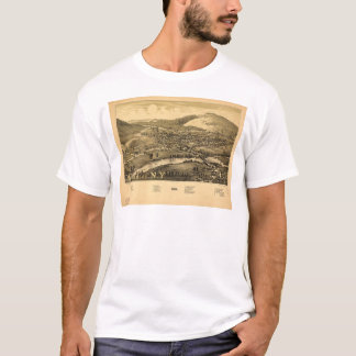 Aerial View of Windsor, New York (1887) T-Shirt