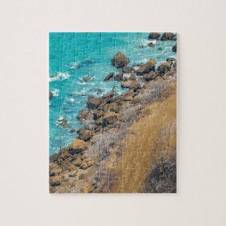 Aerial View Pacific Ocean Coastline Puerto Lopez E Jigsaw Puzzle