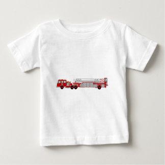 AerialLadderRedRU Baby T-Shirt