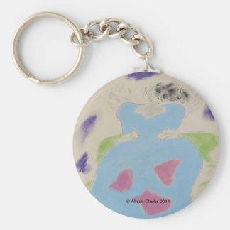 Aerilinia Basic Round Button Key Ring
