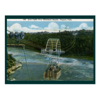 Aero Cable, Niagara Falls 1920 Vintage Postcard