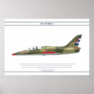 Aero L-39 Cuba Poster