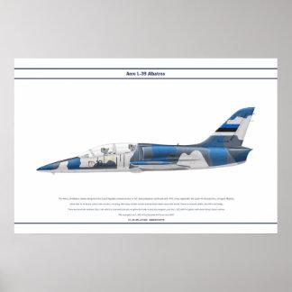 Aero L-39 Estonia Poster