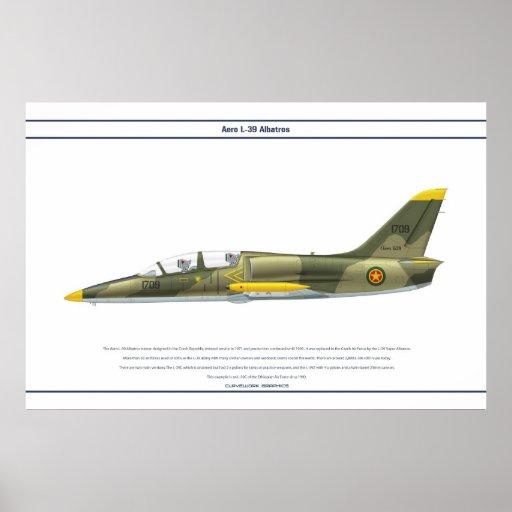 Aero L-39 Ethiopia Posters