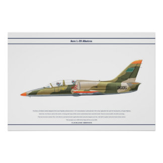 Aero L-39 Libya Poster