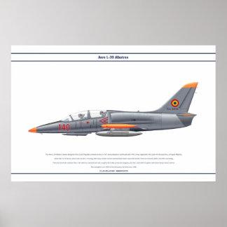 Aero L-39 Romania Poster