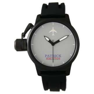 aero man . cool watch with his name