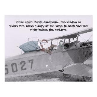 Aero Santa! - Postcard