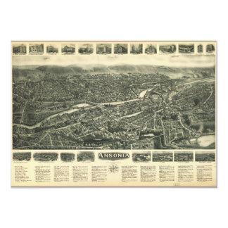 Aero view of Ansonia, Connecticut (1921) Card