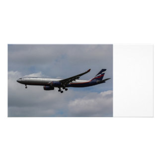 Aeroflot Airbus A330 Customised Photo Card