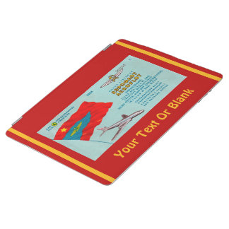 Aeroflot Passenger Ticket iPad Cover