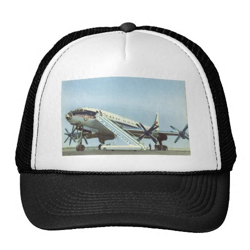 Aeroflot Tu 114 AIRLINER Trucker Hat