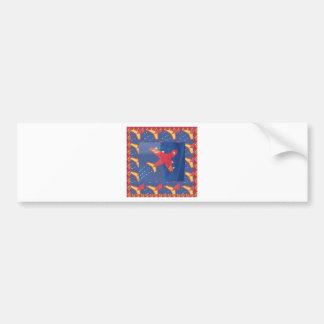 Aeroplane Aircraft Flight Travel Picnic Holidays Bumper Sticker