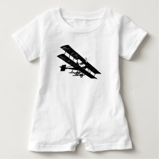 Aeroplane Aircraft Flying Machine Baby Romper Baby Bodysuit