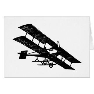 Aeroplane Aircraft Flying Machine Greeting Card