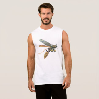 Aeroplane and Wasp Military T-shirt