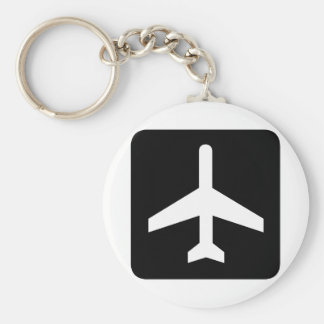 Aeroplane cool products! basic round button key ring