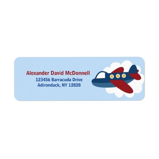 Aeroplane Custom Address Labels