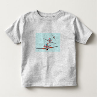 """Aeroplane dogfight"" Children's T-Shirt. Toddler T-Shirt"