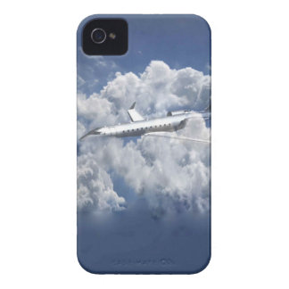 Aeroplane in the clouds Iphone 4s cover Case-Mate iPhone 4 Case