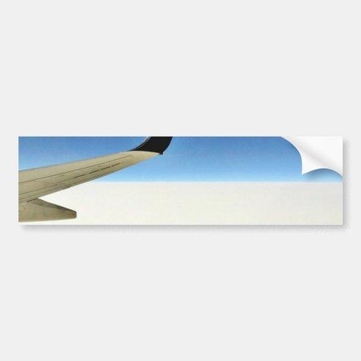 Aeroplane In The Sky Bumper Stickers
