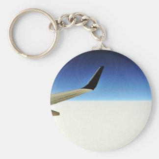 Aeroplane In The Sky Key Chain
