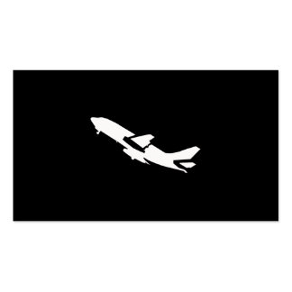 Aeroplane Pilot Pack Of Standard Business Cards