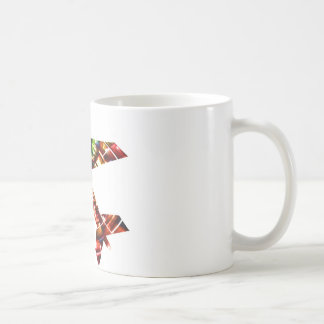 Aeroplane - Sparkling Red Cool Design Basic White Mug