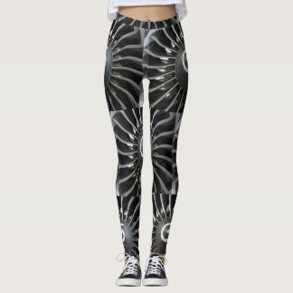 Aeroplane turbine leggings