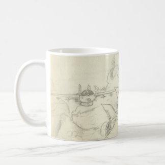 Aeroplanes Basic White Mug