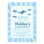Aeroplanes Birthday party Invitations
