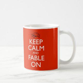 Aesop Keep Calm Mug
