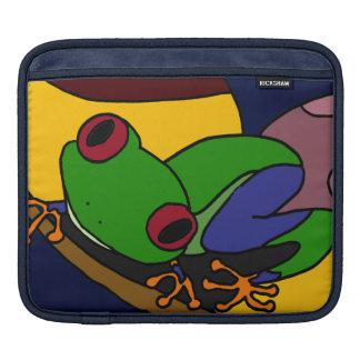 AF- Abstract Art Tree Frog ipad Case iPad Sleeves