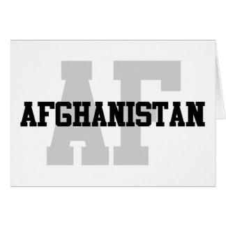 AF Afghanistan Card